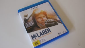 McLaren Bluray cover