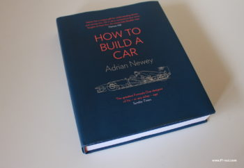 How to build a car Adrian Newey book cover